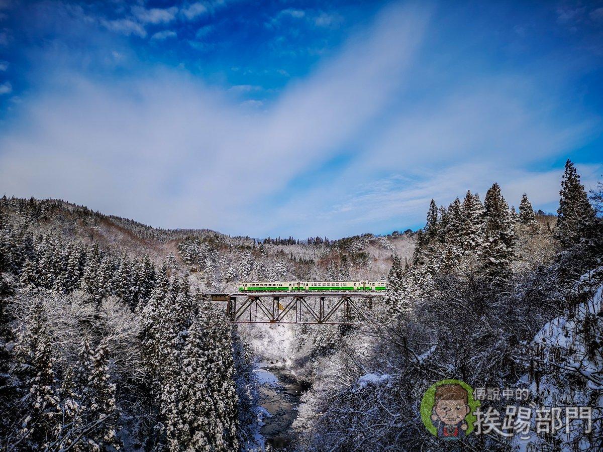 只見線滝谷私房拍攝景點