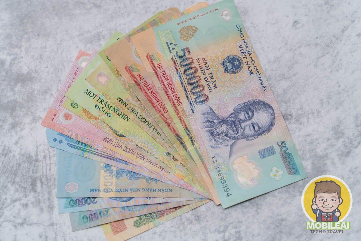 越南旅遊該如何換匯